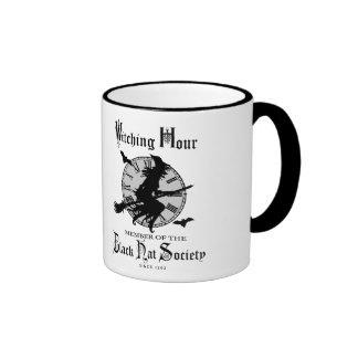 Modern Vintage Halloween witch Coffee Mugs
