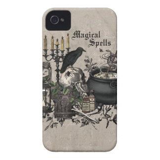 Modern vintage Halloween WITCHES BREW iPhone 4 Case