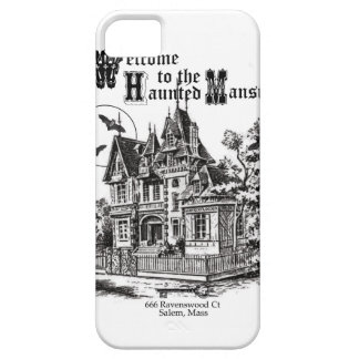 modern vintage haunted mansion iPhone 5/5S covers