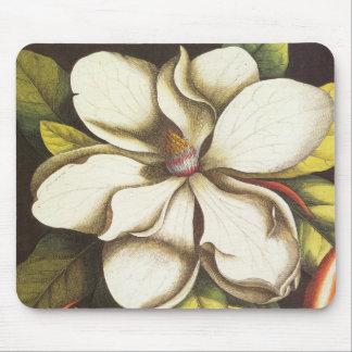 modern vintage magnolia mouse pad