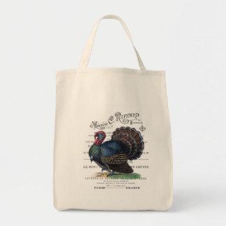 modern vintage Turkey Tote Bag
