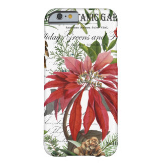 Modern vintage winter garden floral barely there iPhone 6 case