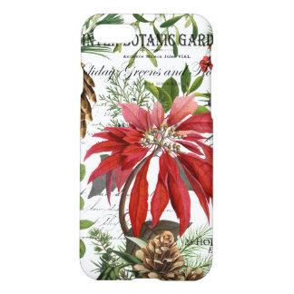 Modern vintage winter garden floral iPhone 8/7 case