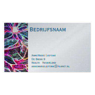 Modern visiting card pack of standard business cards