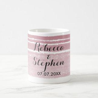 Modern Watercolor Wedding Mug