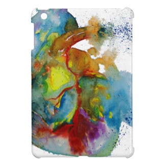 Modern Watercolour Anatomical Heart Cover For The iPad Mini