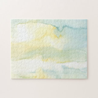 Modern Watercolour Painting Jigsaw Puzzle