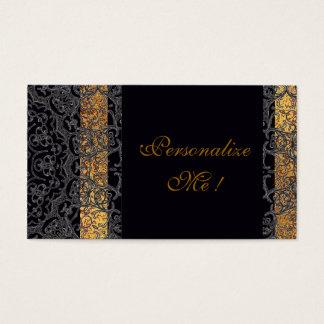 Modern Wedding Elegant Black/Gold Trendy Stylish