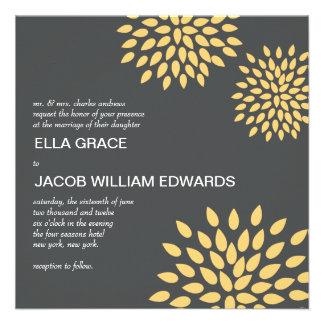 Modern Wedding Invite // Posh Petals // Sunshine