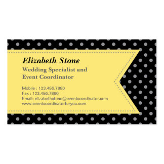 Modern Wedding Planner Business Card