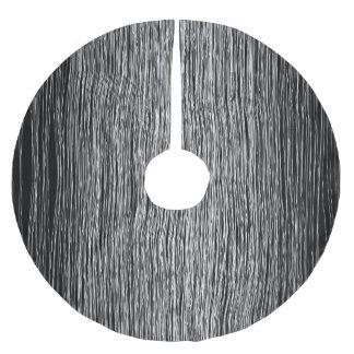modern white penline art.jpg brushed polyester tree skirt