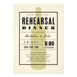 Modern Wine Wedding Rehearsal Dinner Invitations