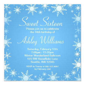 winter wonderland invitations  announcements  zazzleau, party invitations