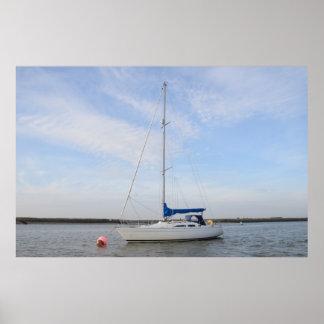 Modern Yacht Print