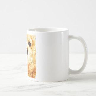modern yellow American cocker spaniel Coffee Mug