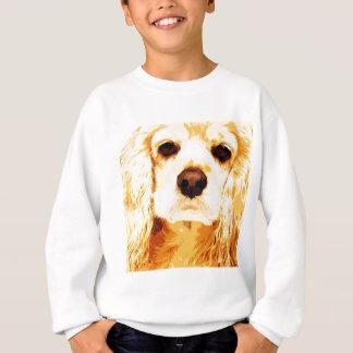 modern yellow American cocker spaniel Sweatshirt