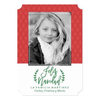 Moderna Feliz Navidad | Tarjeta De Navidad Card