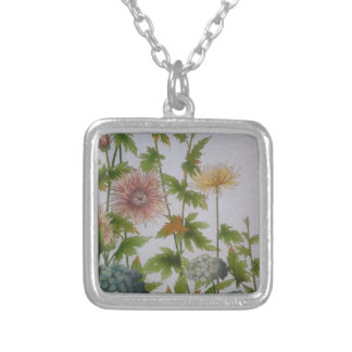 Modernism Silver Plated Necklace