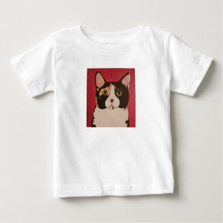 ModernPetPortraitsTN Baby Art Calico Kitty shirt