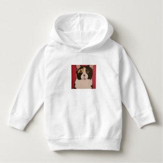 ModernPetPortraitsTN Calico Kitty toddler Hoodie
