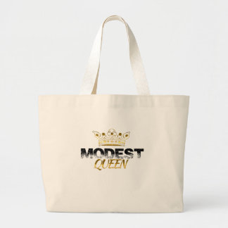 Modest Queen Large Tote Bag