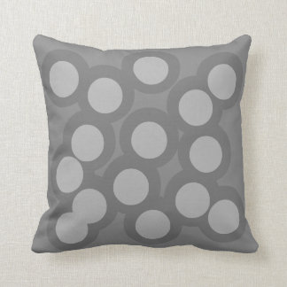 Modestly Modish Pillow/Cushion Vers 2 Circles Cushion
