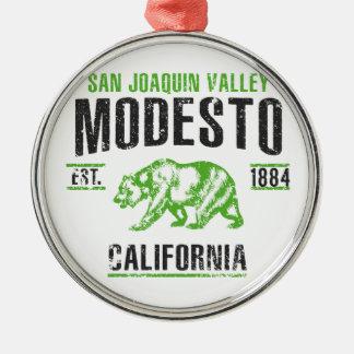 Modesto Metal Ornament