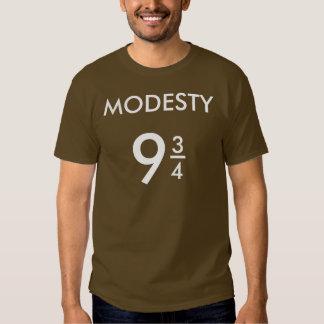 Modesty 9 3/4. Mens Basic Short Sleeve T-Shirt. Tshirt