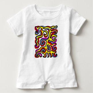 """""""Modesty"""" Baby Romper Baby Bodysuit"""