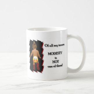 Modesty Coffee Mug