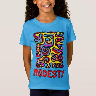 """""""Modesty"""" Girls' Fine Jersey T-Shirt"""