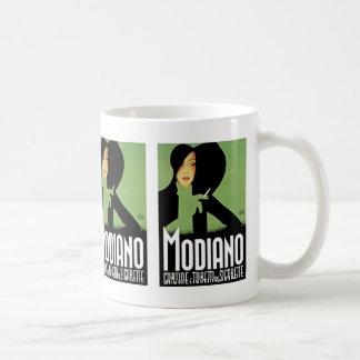 Modiano Cigarette Ad Coffee Mug