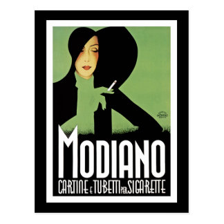 Modiano Cigarette Ad Postcard