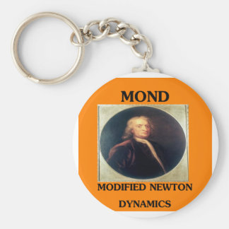 modifie newtonian dynamics physics design basic round button key ring