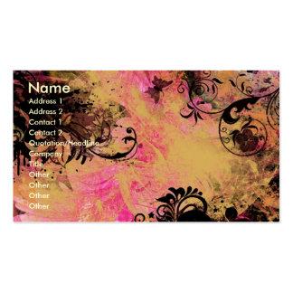 Modified Gerber Business Card Templates