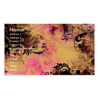 Modified Gerber Pack Of Standard Business Cards
