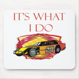 Modified Mustang Racing Car Mouse Pad
