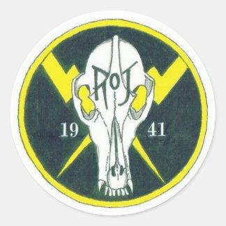 Modified ROJ Patch Round Sticker