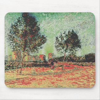 modified van gogh mouse pad