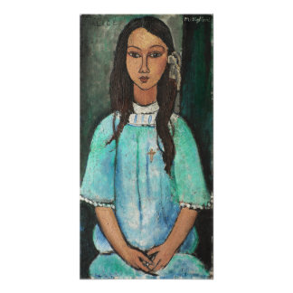 Modigliani Alice Vintage Fine Art Painting Photograph