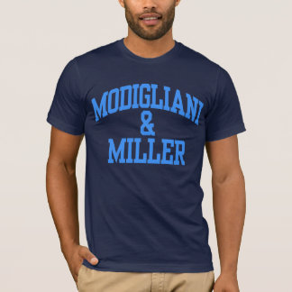 Modigliani & Miller - corporate finance T-Shirt