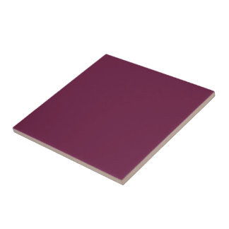 Modishly Masterful Maroon Color Ceramic Tile