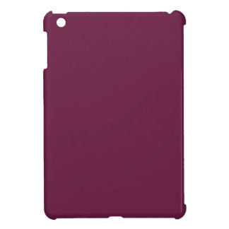 Modishly Masterful Maroon Color Cover For The iPad Mini