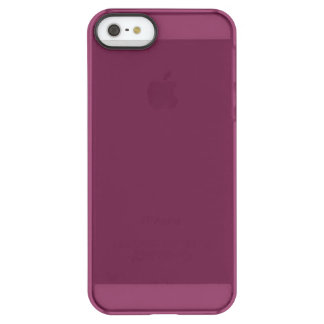 Modishly Masterful Maroon Colour Permafrost® iPhone SE/5/5s Case