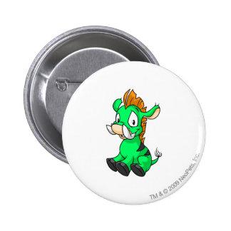 Moehog Green 6 Cm Round Badge