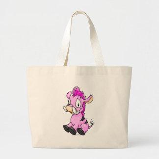 Moehog Pink Jumbo Tote Bag