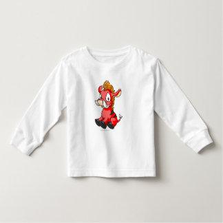 Moehog Red Toddler T-Shirt