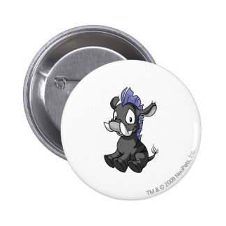 Moehog Shadow 6 Cm Round Badge