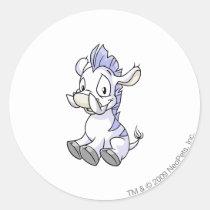 Moehog White stickers