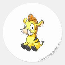 Moehog Yellow stickers